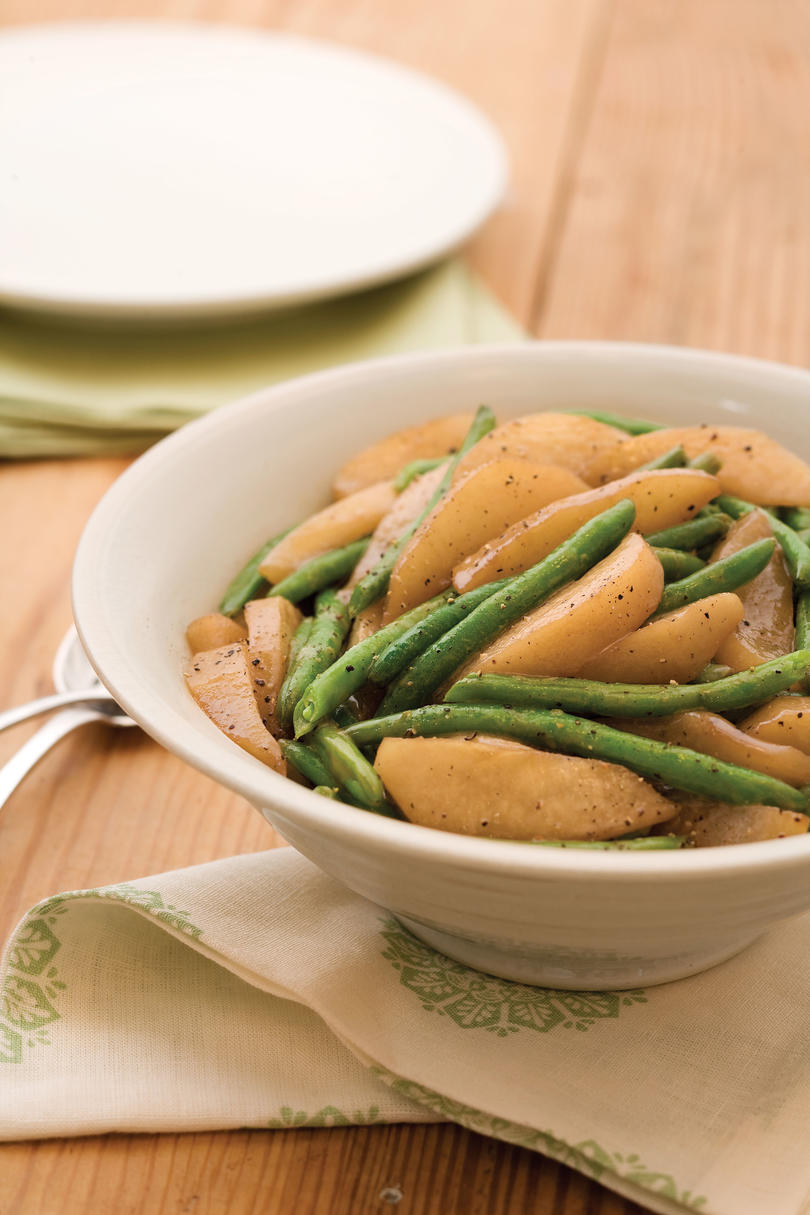 Oh snap 31 green bean recipes southern living sauted green beans and pears forumfinder Image collections