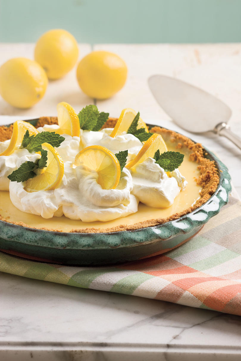 Zesty Lemon Pie