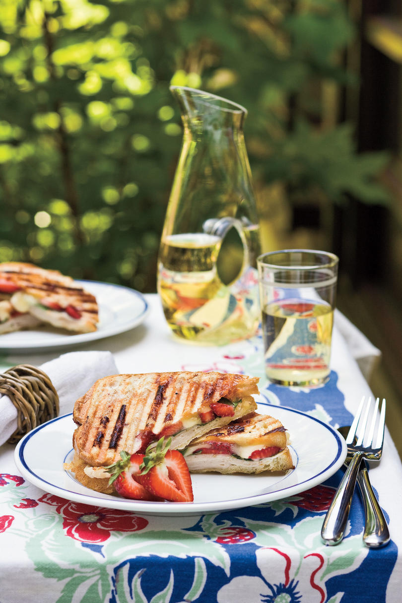 Easy Turkey Recipes: Strawberry-Turkey-Brie Panini