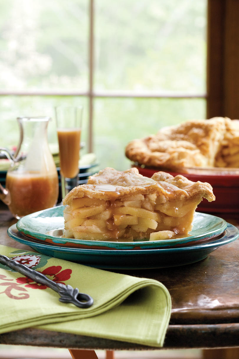 Double Apple Pie Recipe with Cornmeal Crust