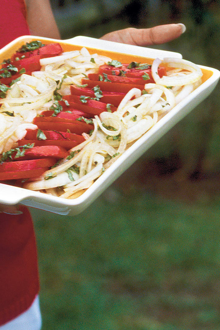 Tomato-and-Onion Salad