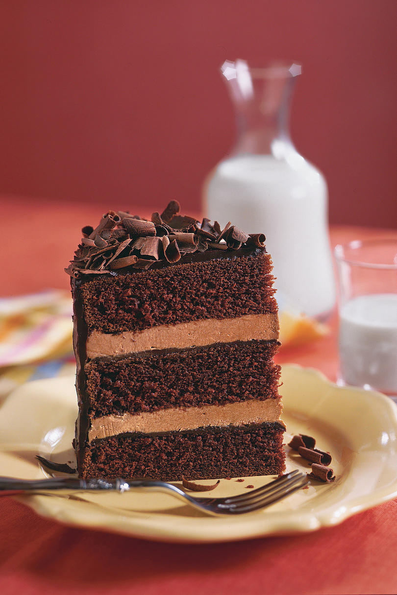 Southern Living Chocolate Cake With Ganache Filling