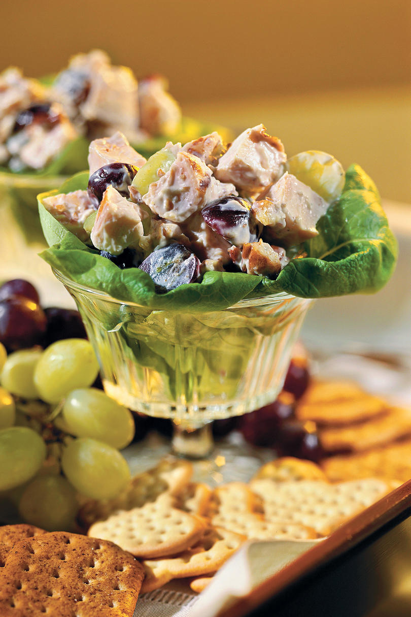 Fresh easy chicken salad recipes southern living chicken salad with grapes recipe forumfinder Gallery