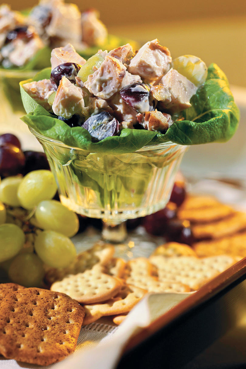 Chicken Salad with Grapes and Pecans Recipes