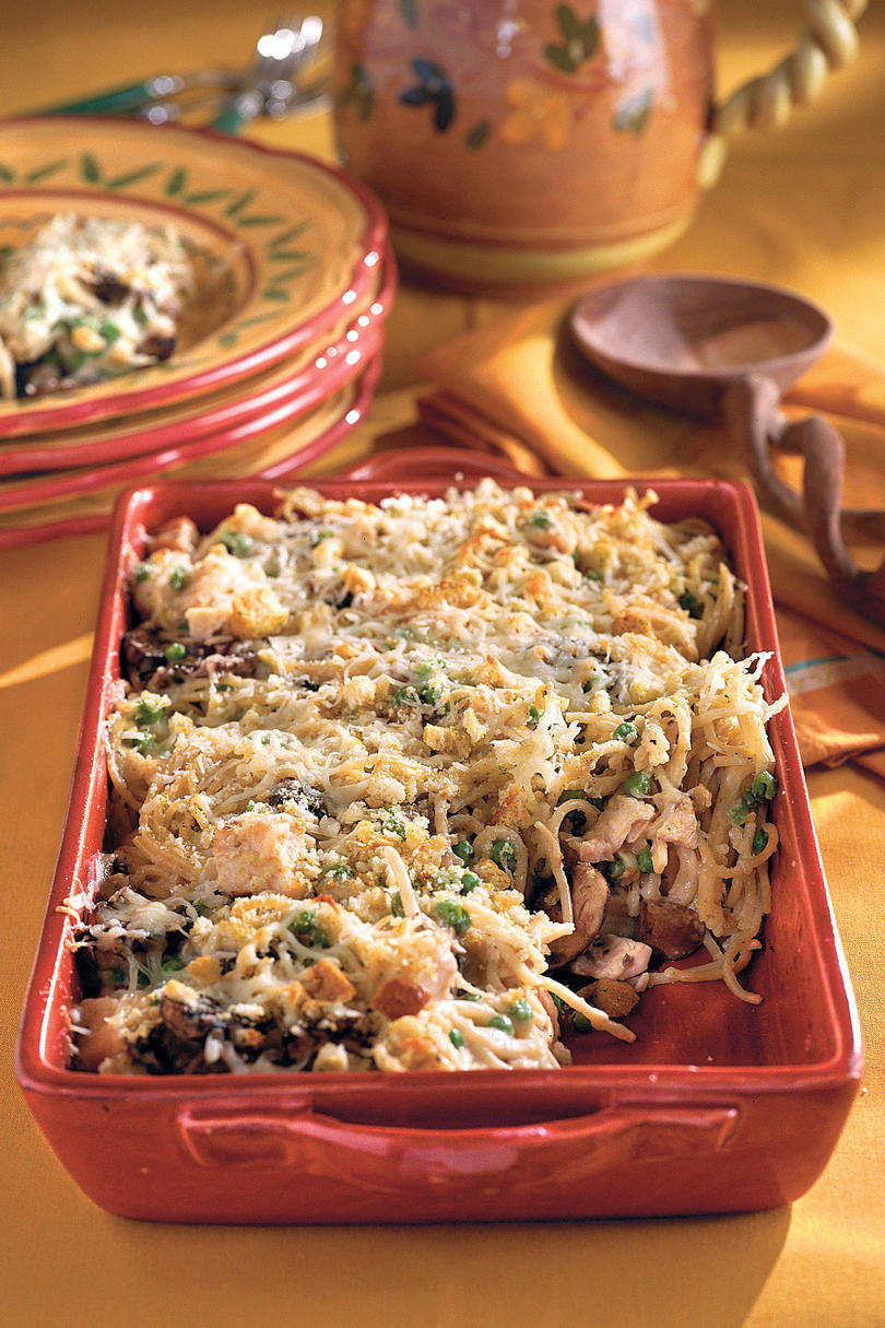 Turkey Tetrazzini Casserole Recipes