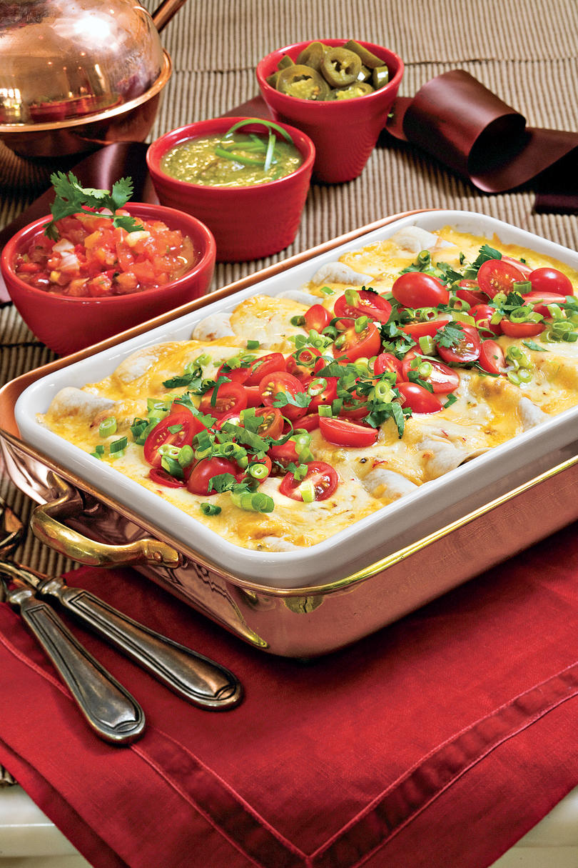 Tex-Mex Breakfast Enchiladas