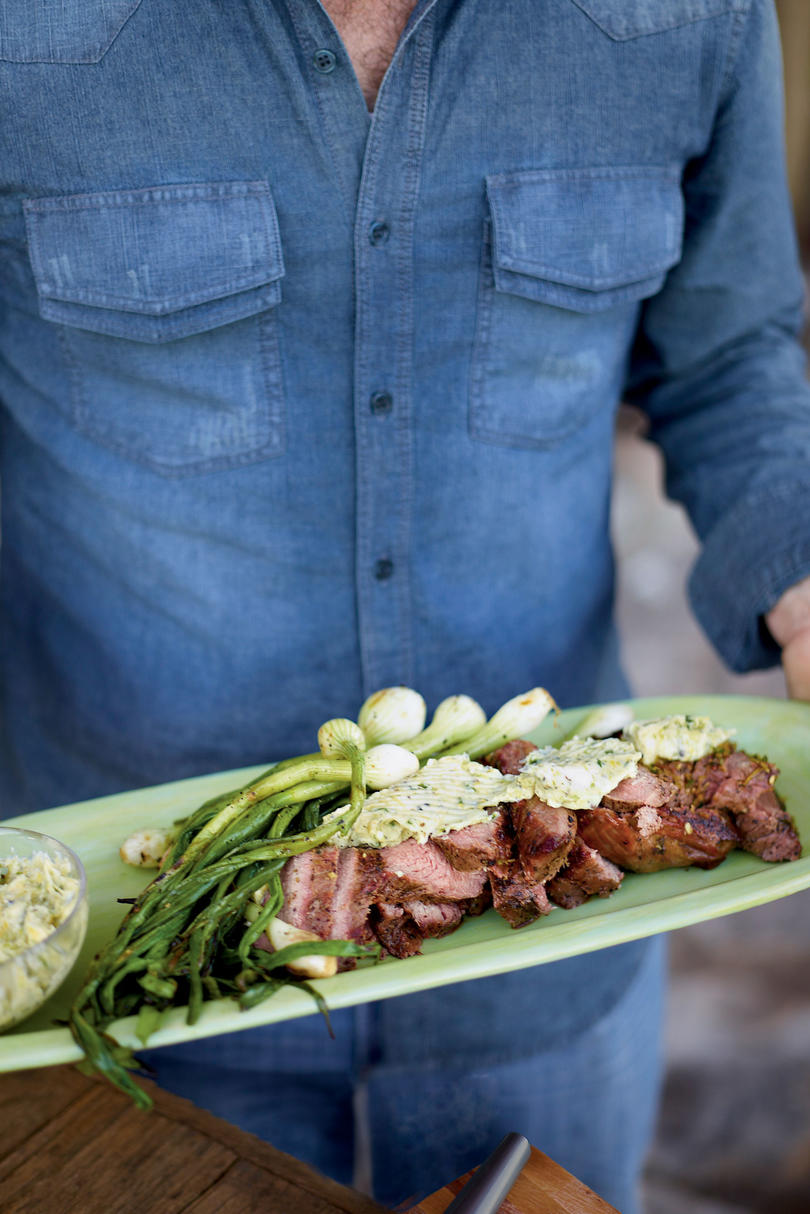 AugustGrilled Tri-Tip with Citrus-Chile Butter