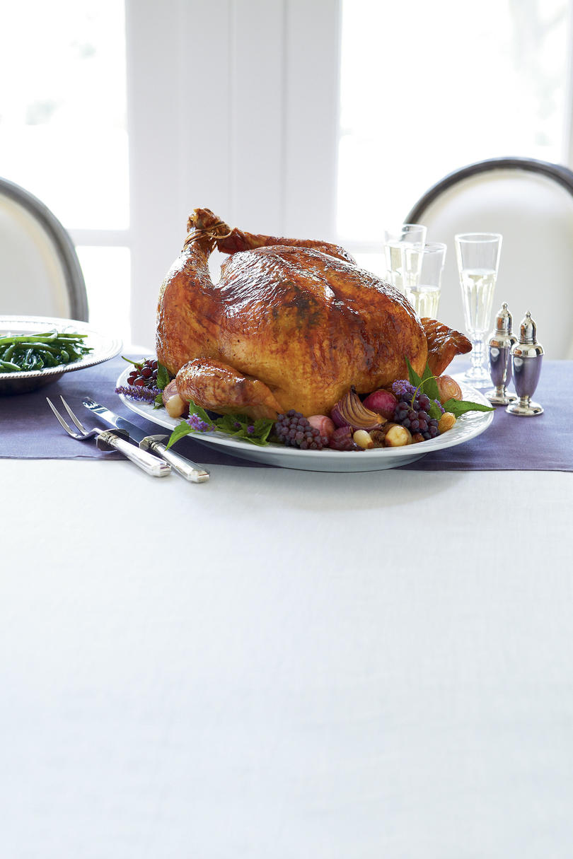 Roasted Turkey with Béarnaise Butter