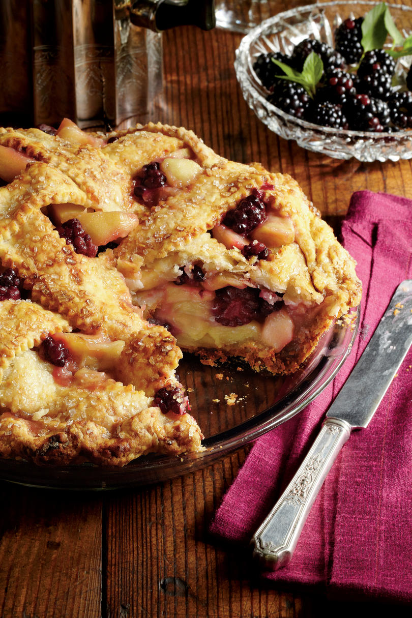 Blackberry-Apple Pie