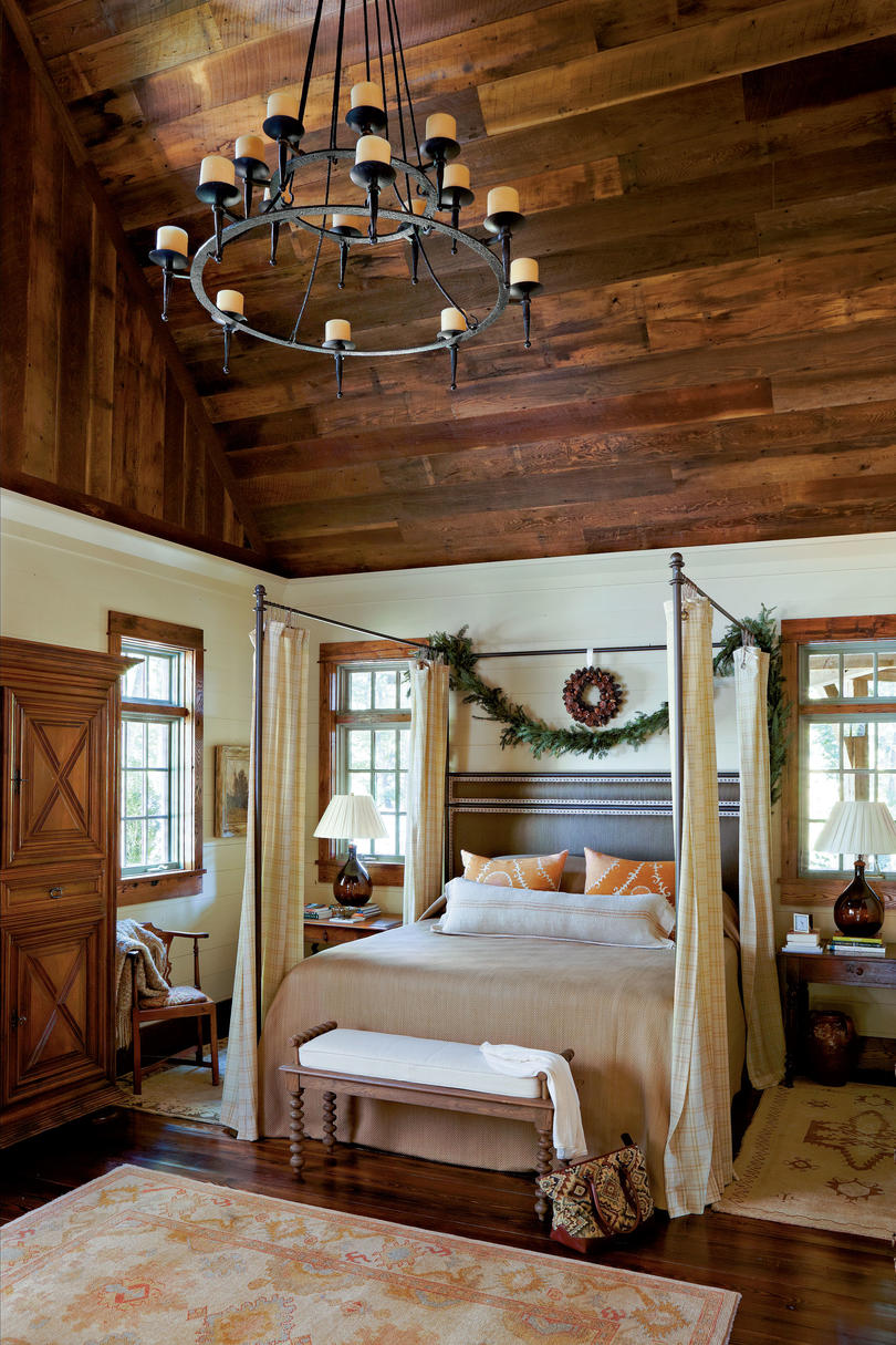 Rustic Accents Bedroom