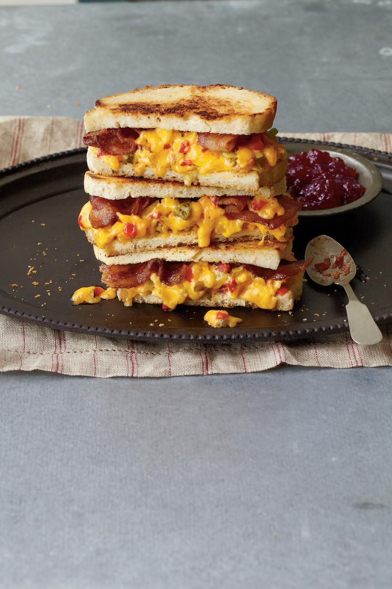 """""""Some Like It Hot"""" Pimiento Cheese Sandwiches"""