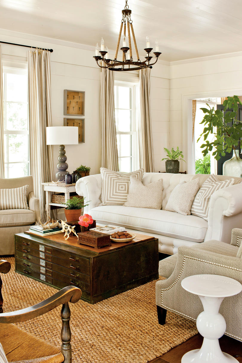 Southern Living Room Enchanting 106 Living Room Decorating Ideas  Southern Living Design Inspiration