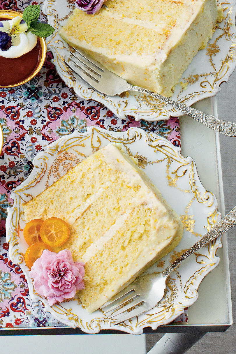 Spring Cakes in Bloom Southern Living