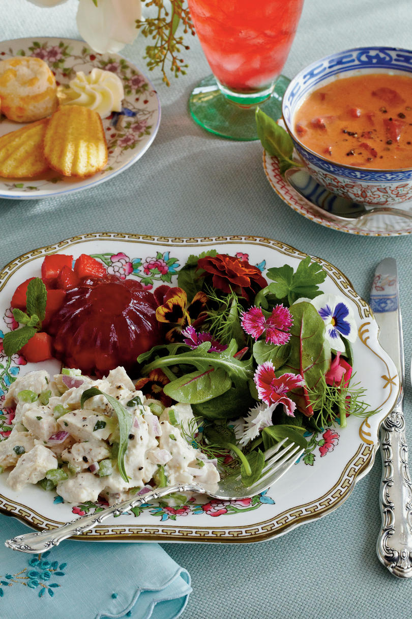 the new ladies lunch - tea sandwiches & more - southern living