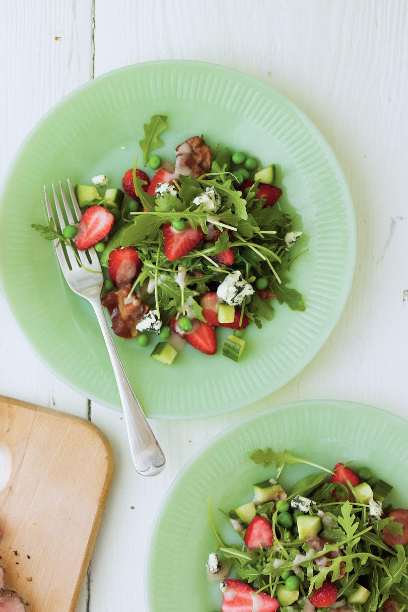 Spring Garden Strawberry Salad Recipe