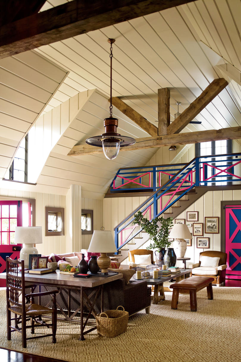 Make Large Rooms Cozy With Multiple Seating Areas