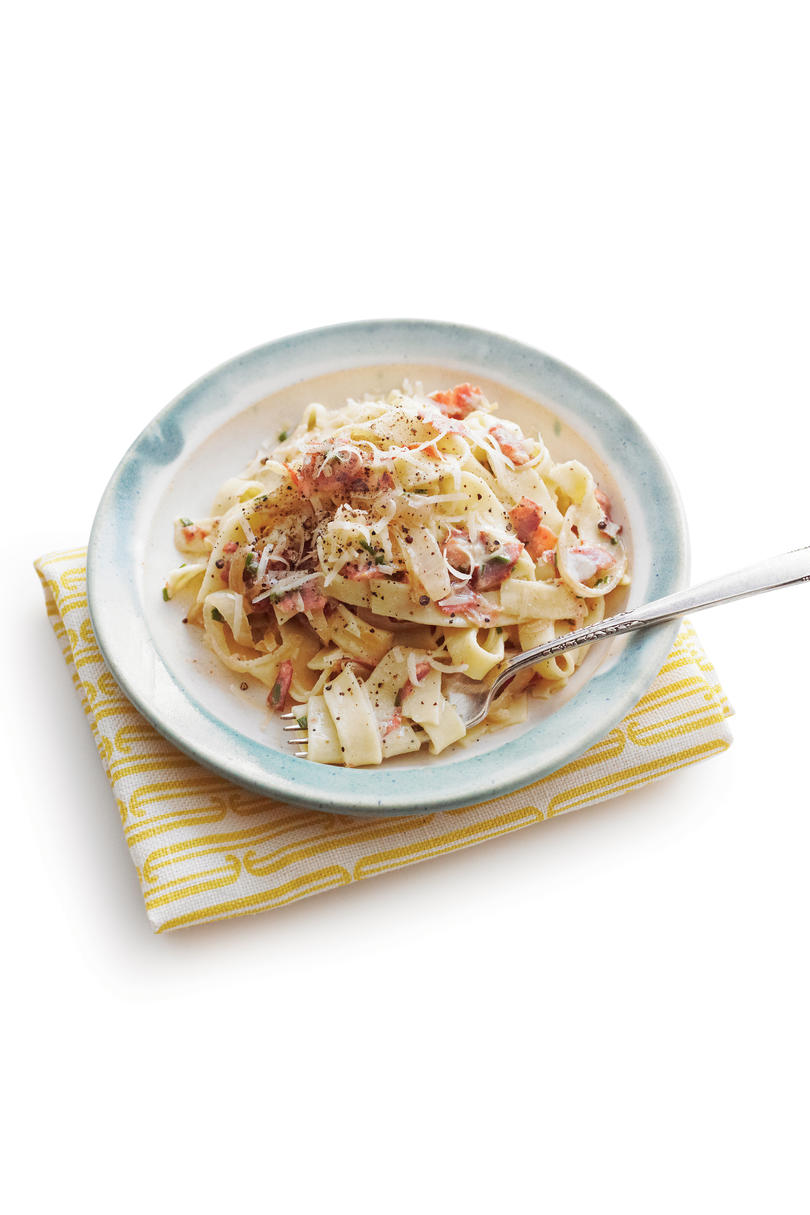 Country Ham Carbonara