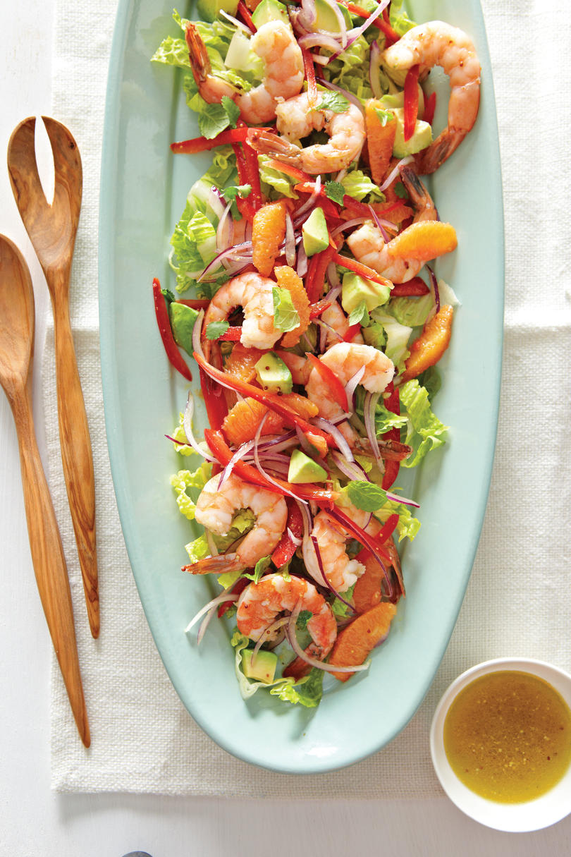 Marinated Shrimp Salad with Avocado Recipe