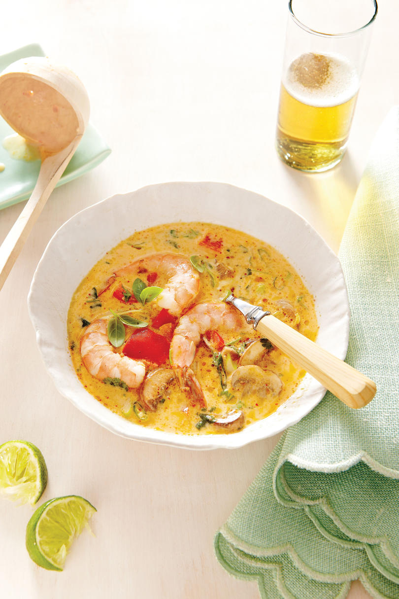 Spicy Coconut Shrimp Soup Recipe