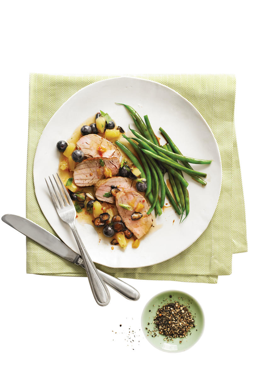 23 ways with pork tenderloin southern living jerk pork tenderloin with blueberry salsa forumfinder