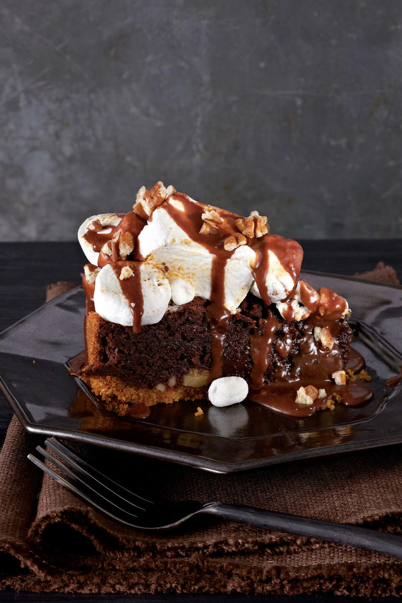 Mississippi Mud Recipes: S'Mores-Fudge Pie
