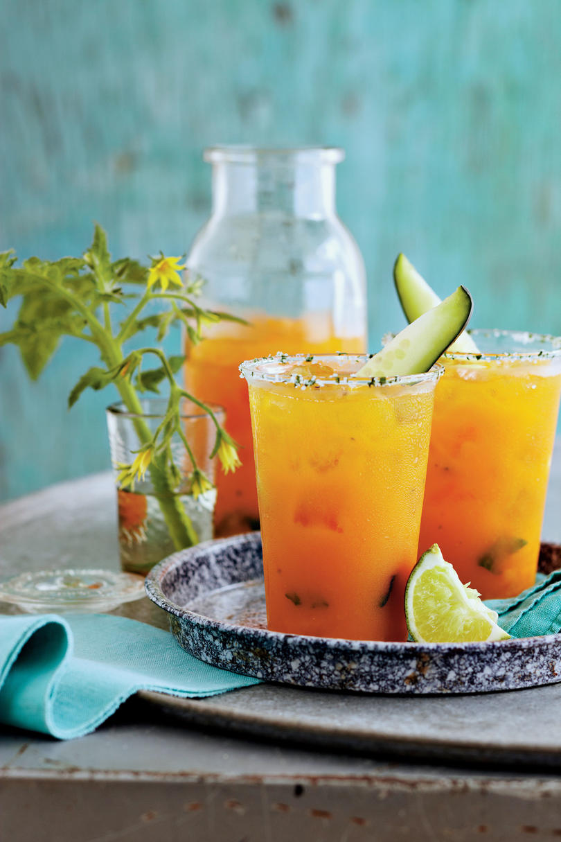 Just Ripe for Summer: Garden Cocktail