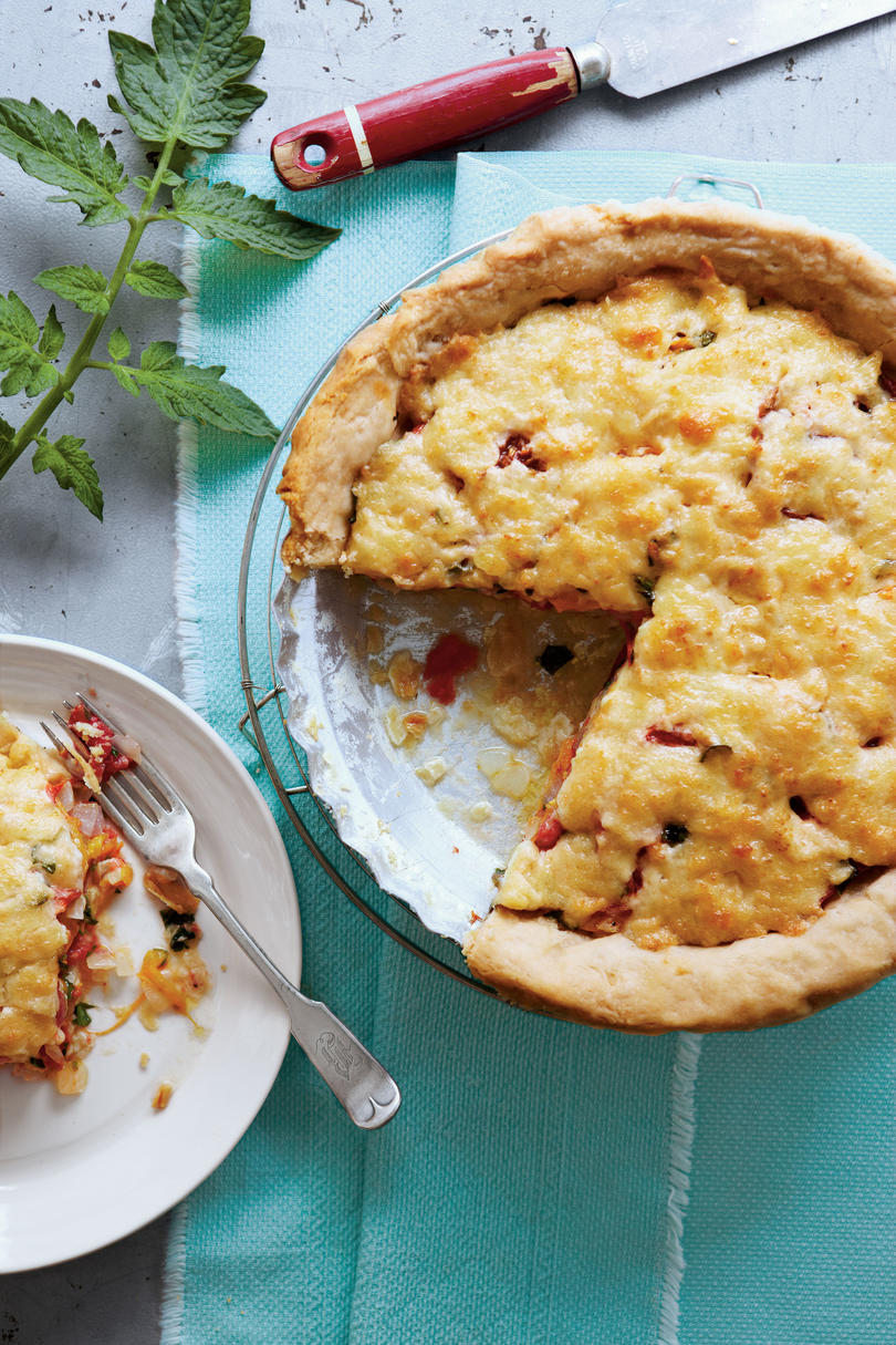Old-Fashioned Tomato Pie