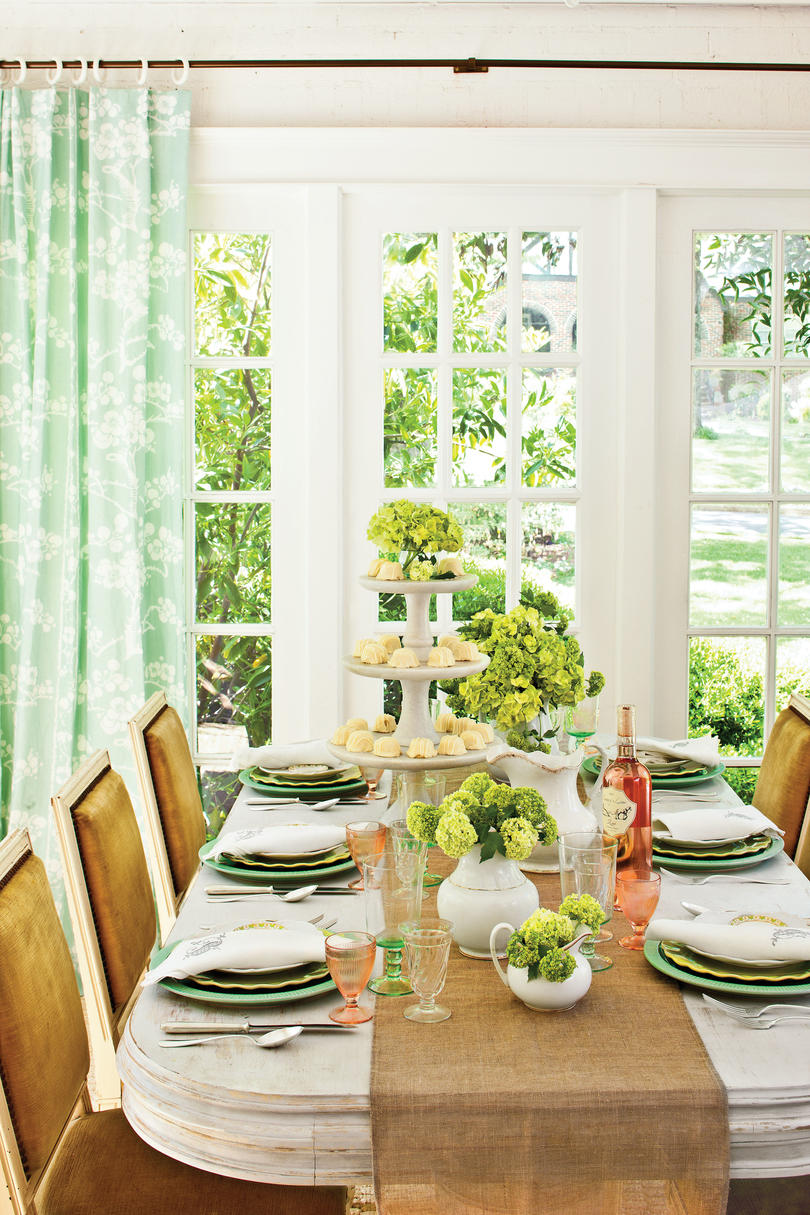 Beautiful Basic Table Setting : southern living table settings - pezcame.com