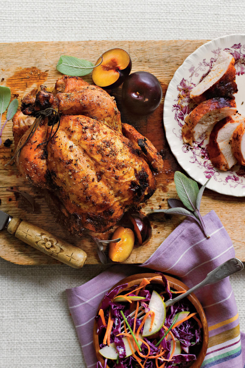 Dry-Brined Beer-Can Chicken