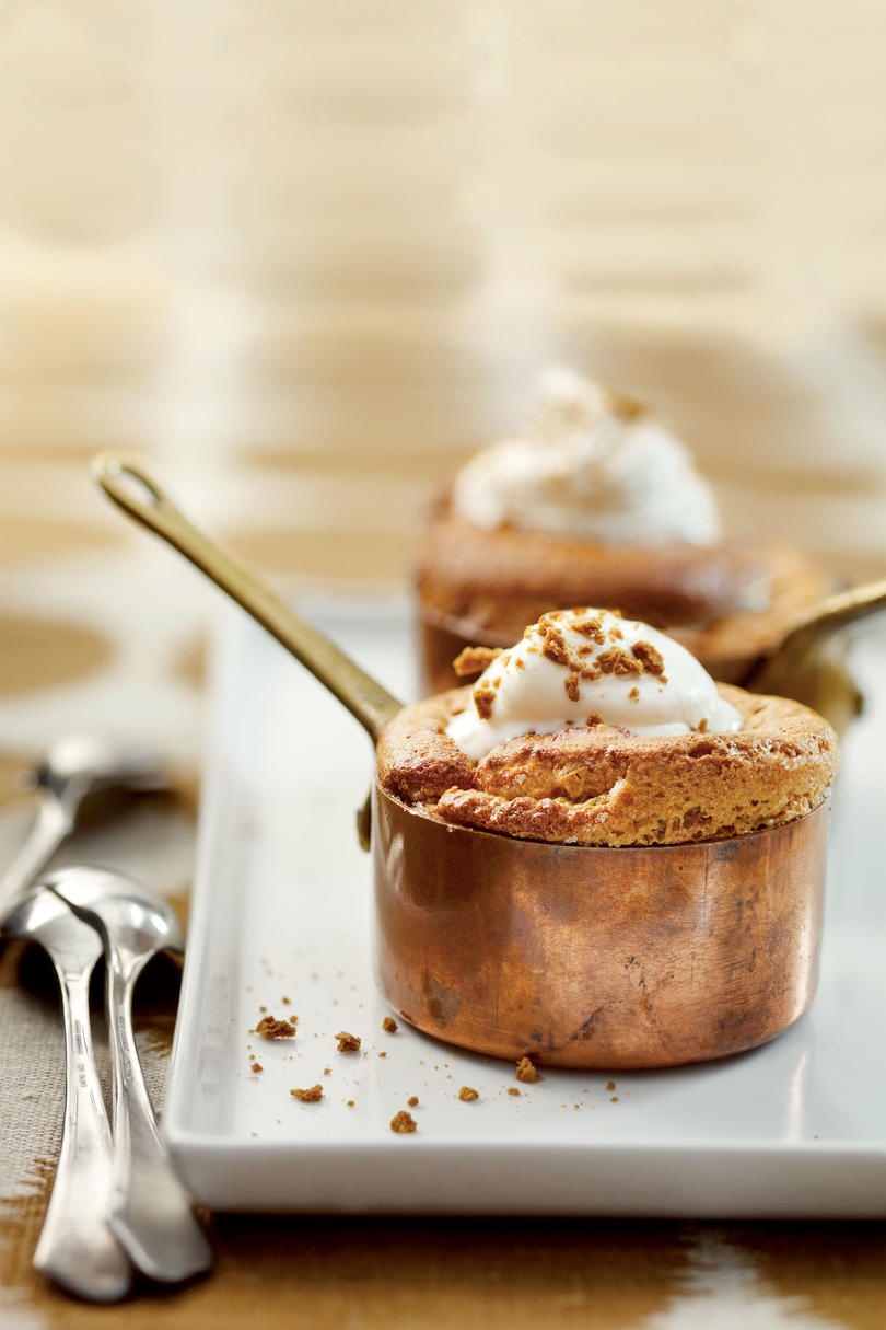 Gingerbread Souffles
