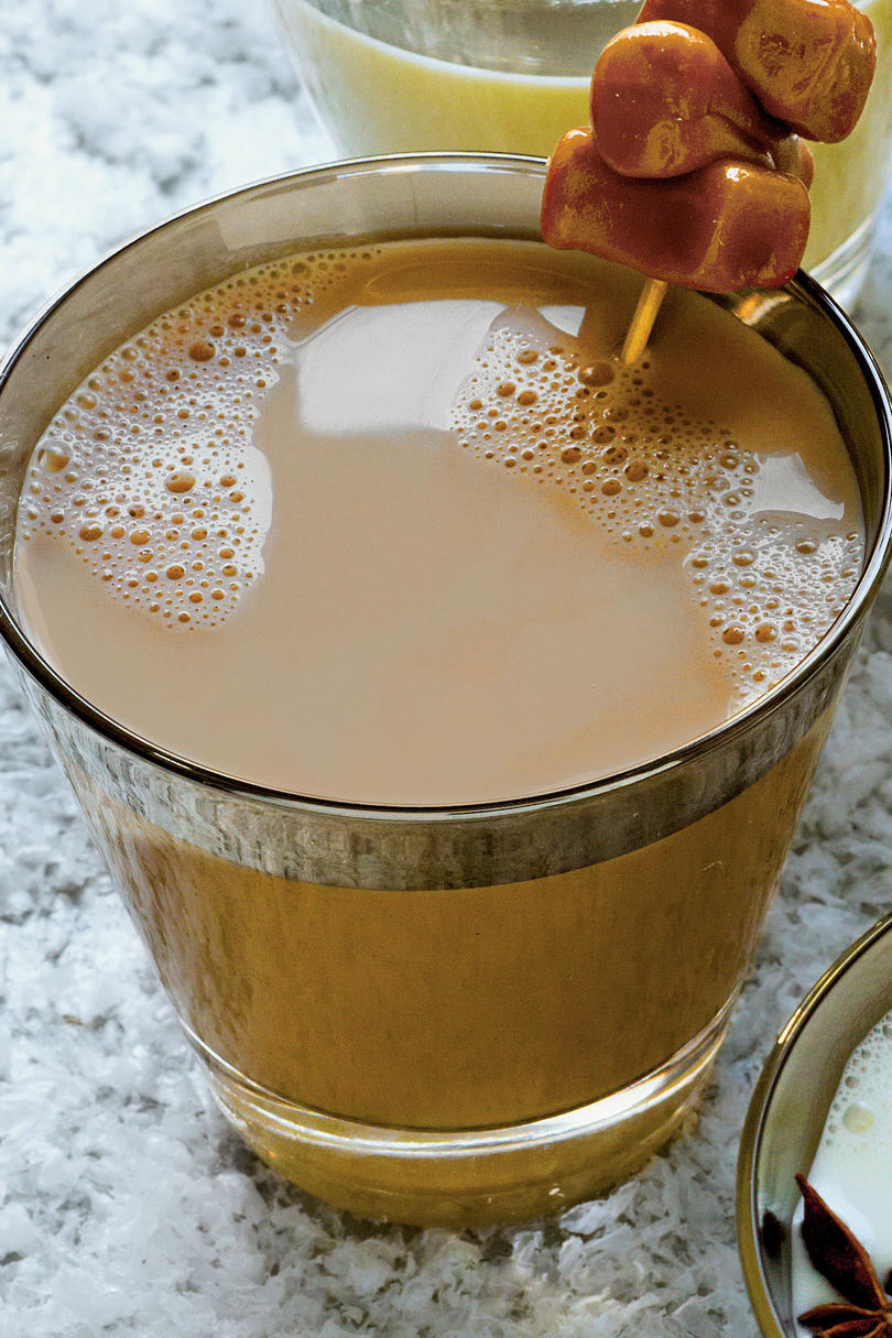 Caramel and Chicory Milk Punch
