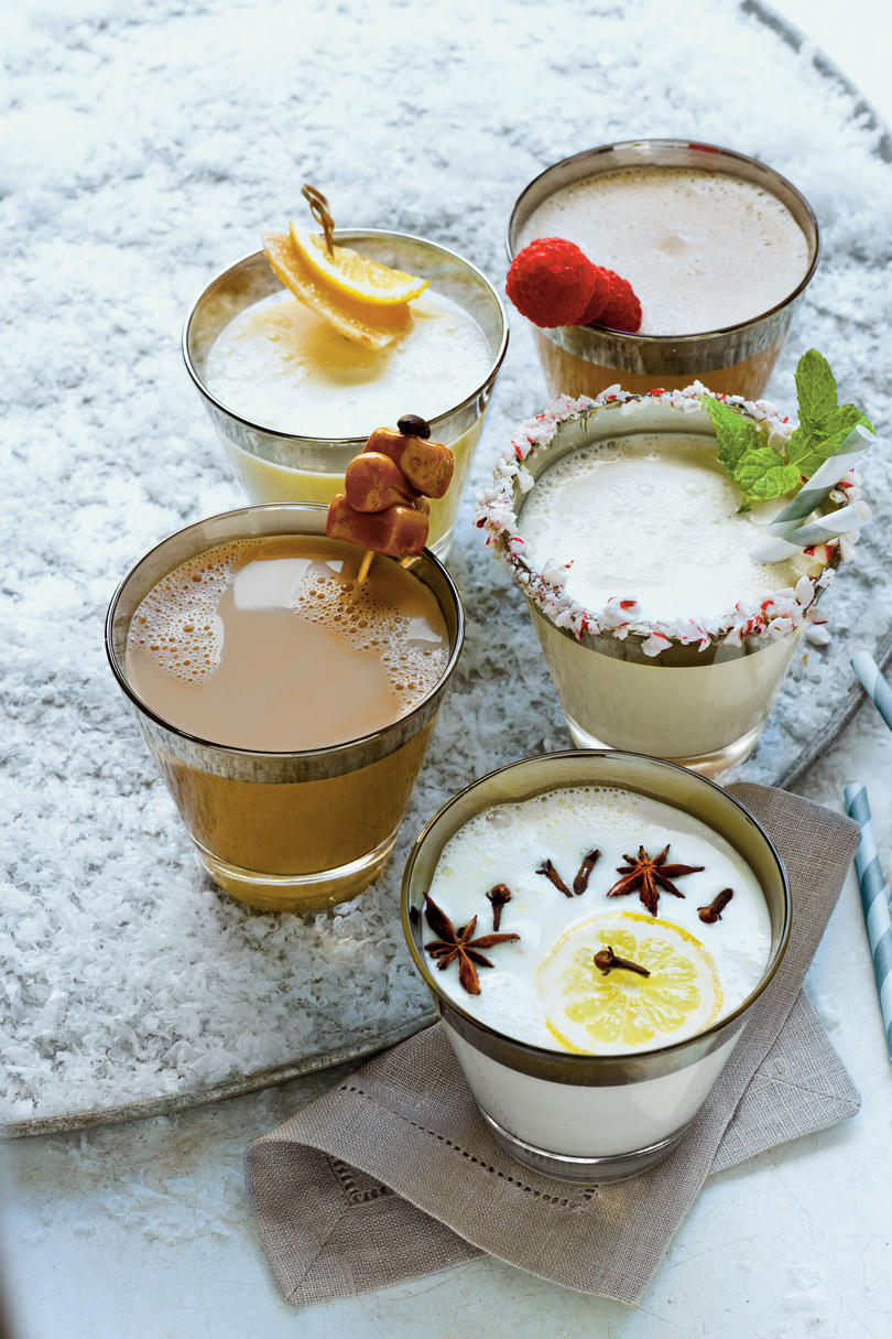 Festive Milk Punch Recipes