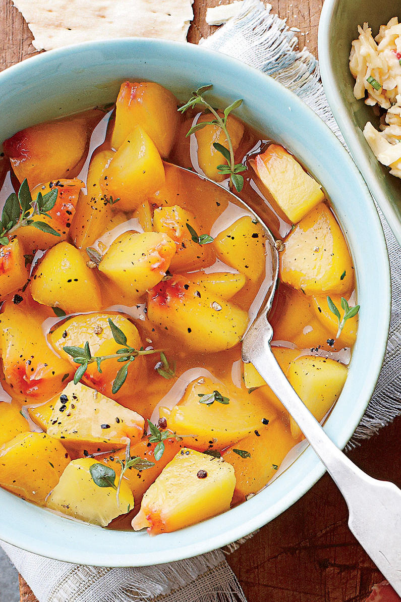 Riesling Peaches