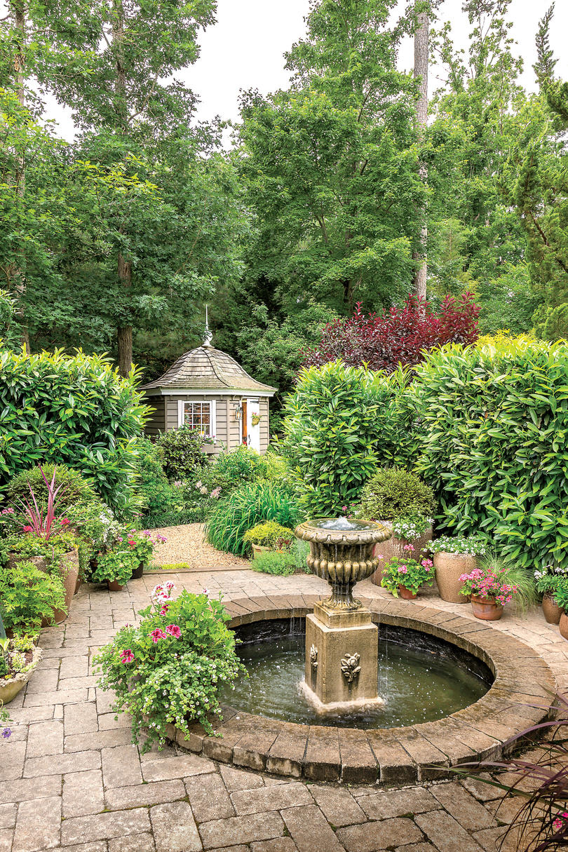 virginia cottage garden southern living