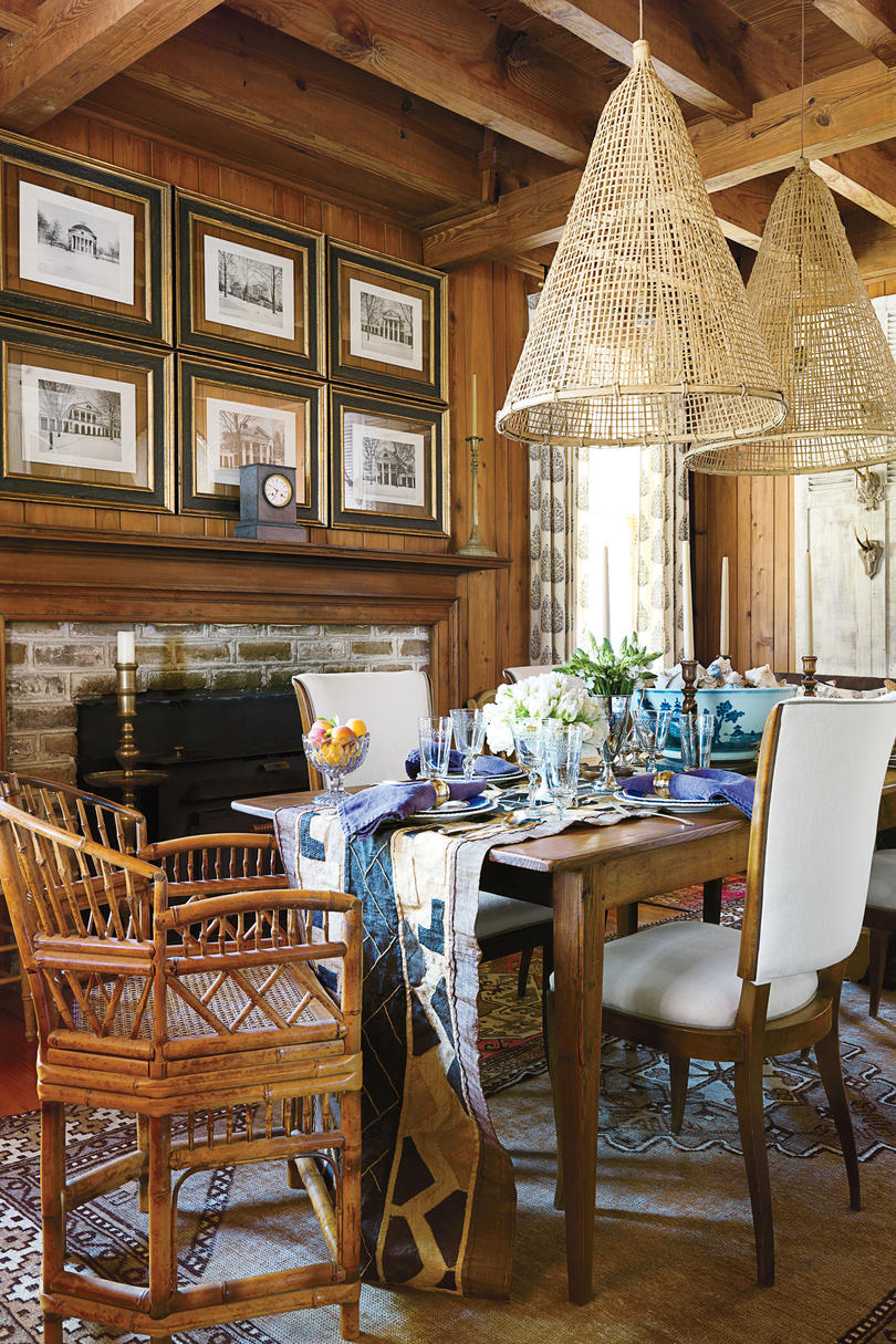 Soulful Historic Dining Room