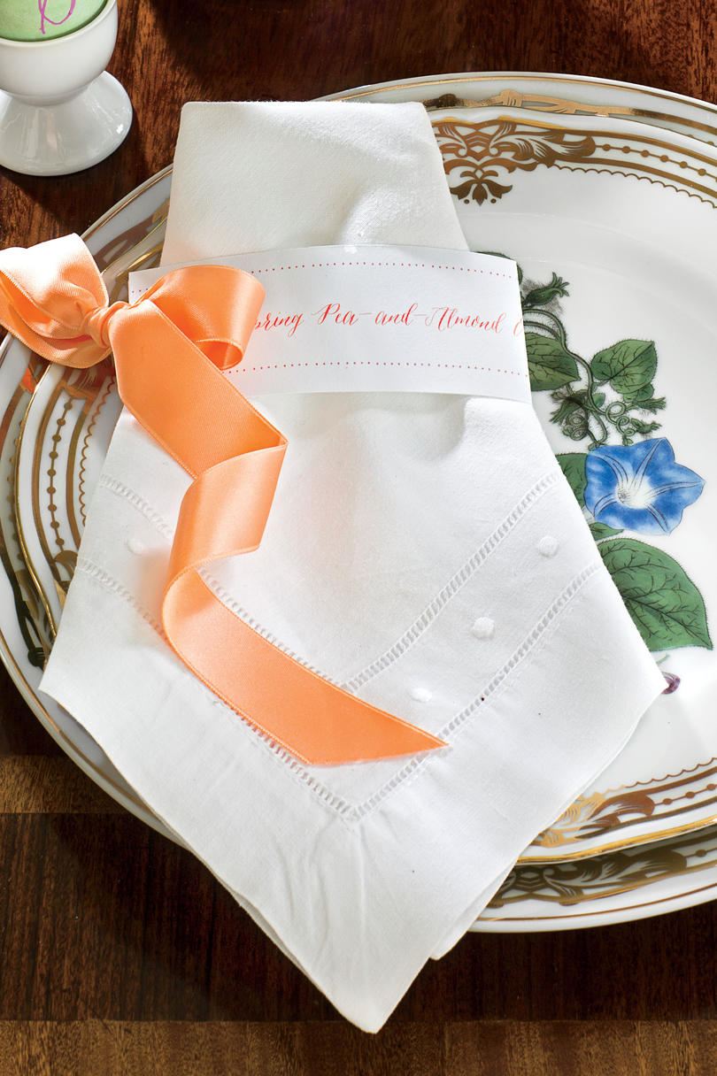 Easter Luncheon Napkins