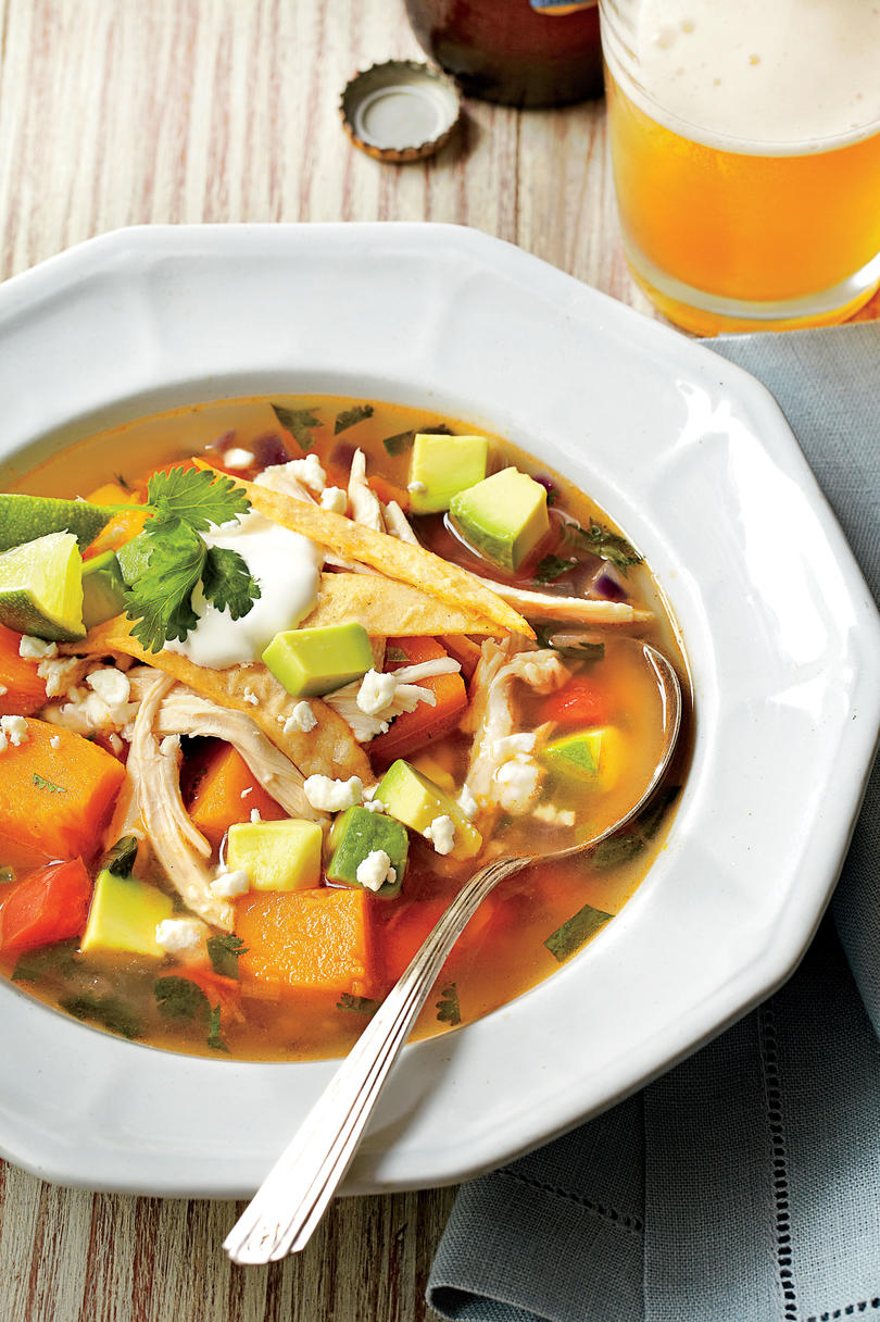 Butternut Squash Tortilla Soup
