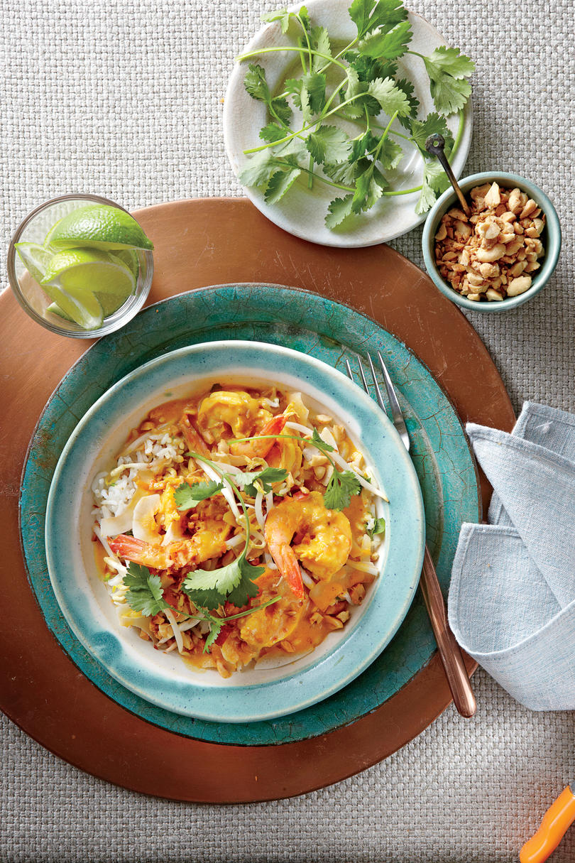 Curried Shrimp with Peanuts