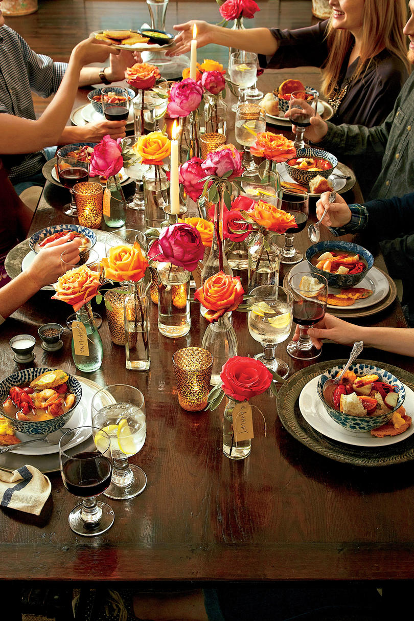16 Casual and Confident Supper Club Menus - Southern Living
