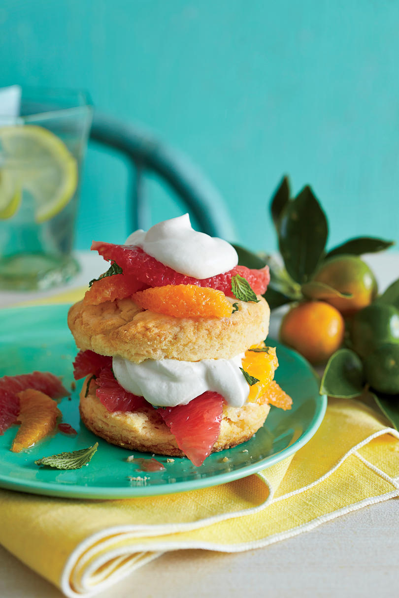 Citrus Shortcakes