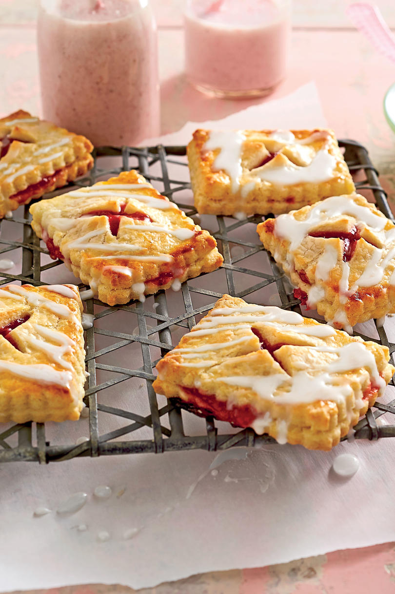 Strawberry-Rhubarb Tartlets