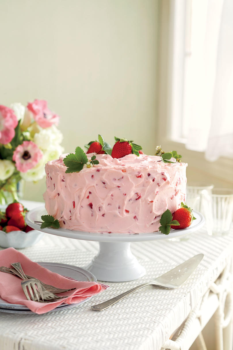 Strawberry Cake Recipes - Southern Living