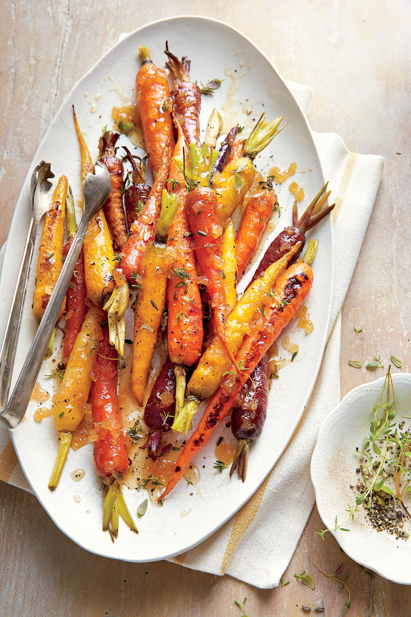 Honey-Roasted Carrots