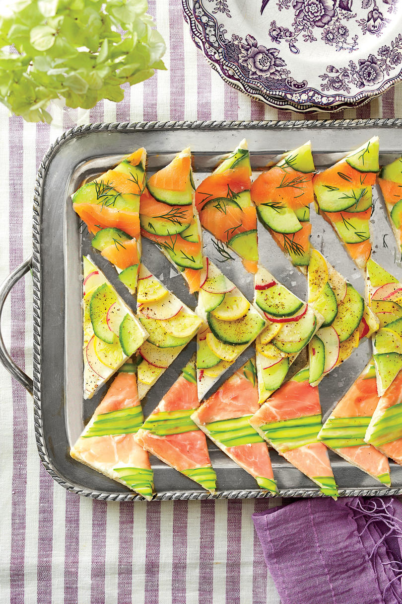 Mosaic Tea Sandwiches
