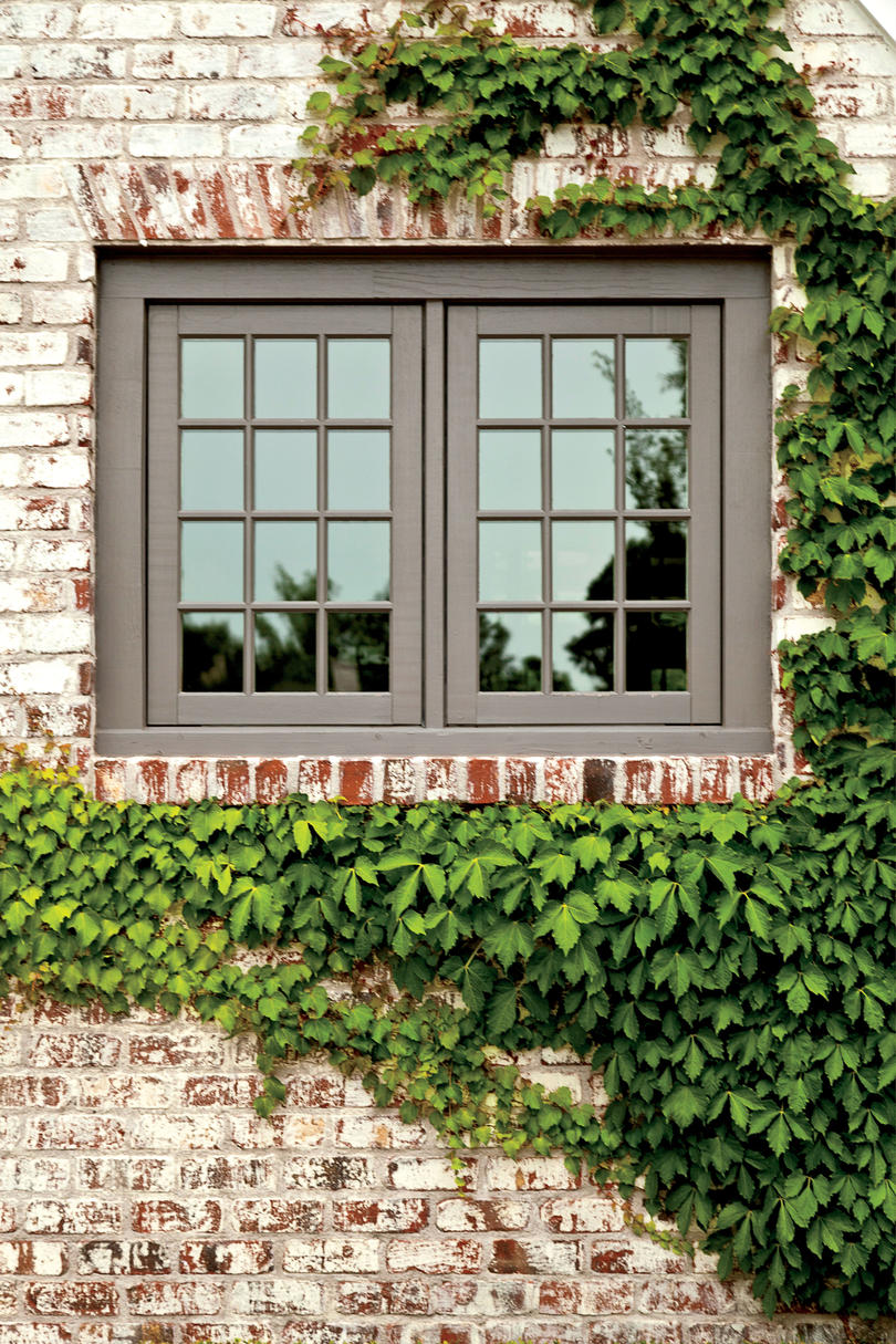 Peter block country style makeover southern living - English style window boxes living facades ...