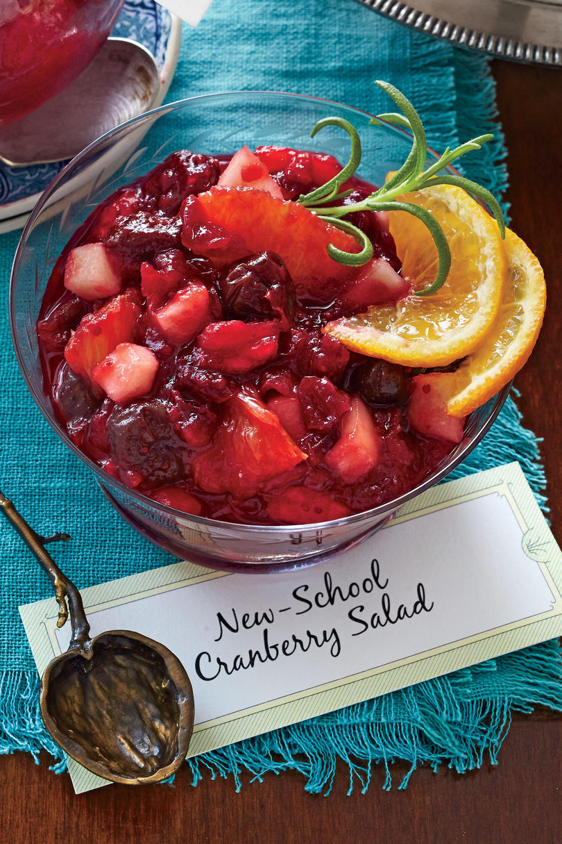 New-School Cranberry Salad Recipe