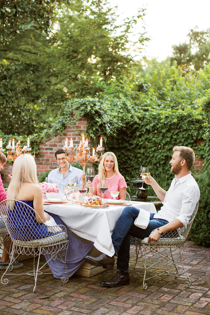 Whimsical Alfresco Dinner Party