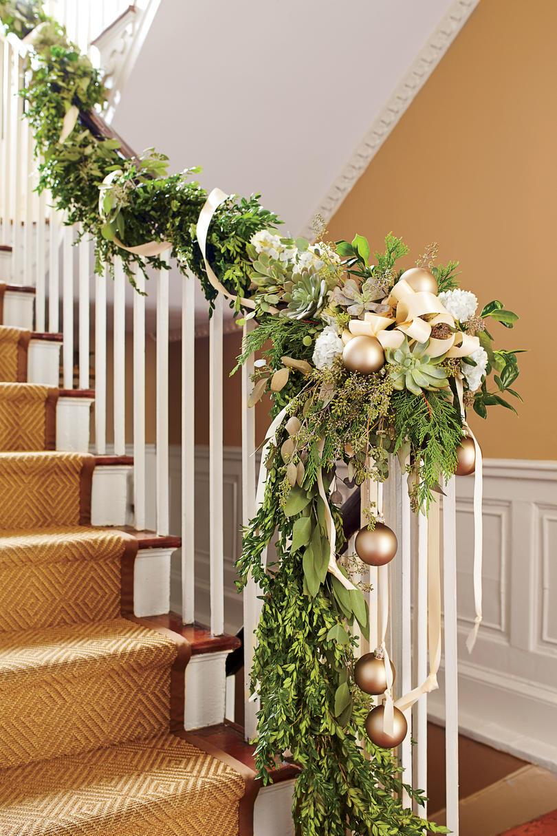 The Ultimate Holiday Decorating Guide Southern Living Always Help Staircase Diagram East Coast Stairs Company Inc Climbing