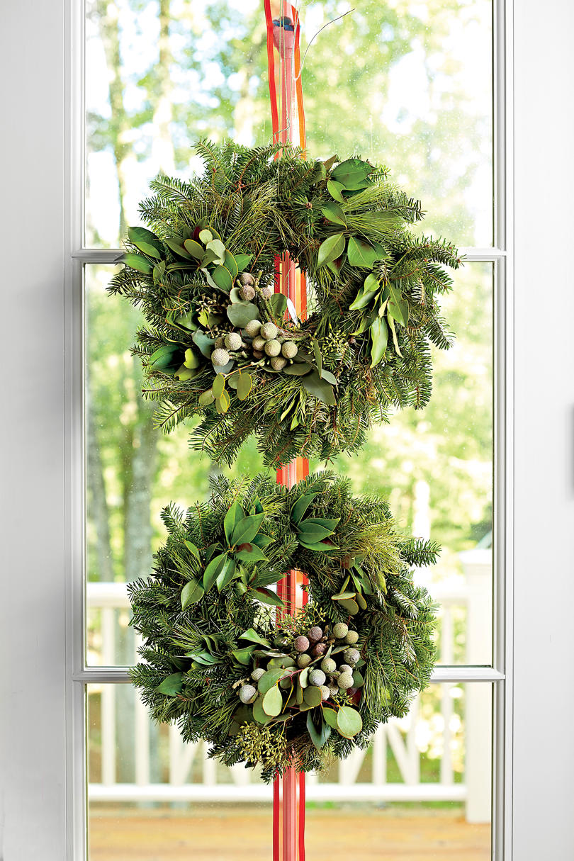 Double Stack Wreaths