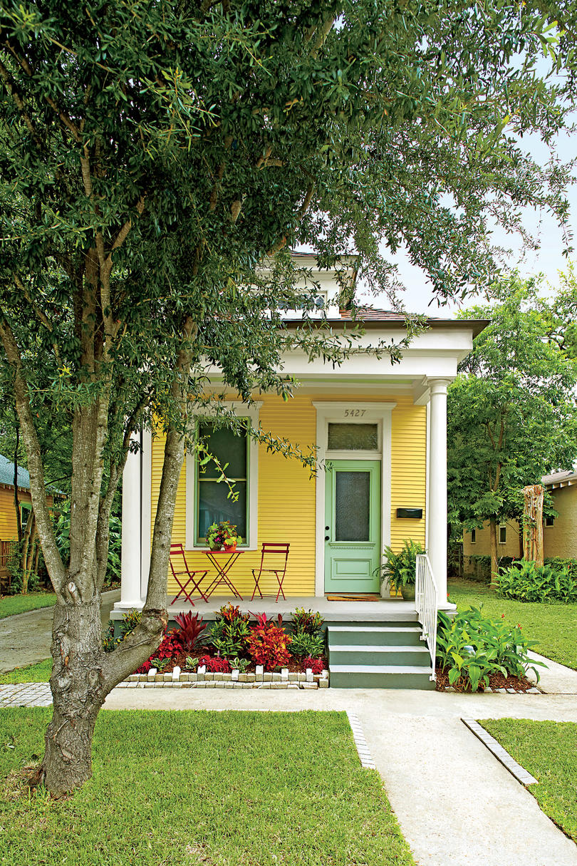 Neoclassical Revival Shotgun House